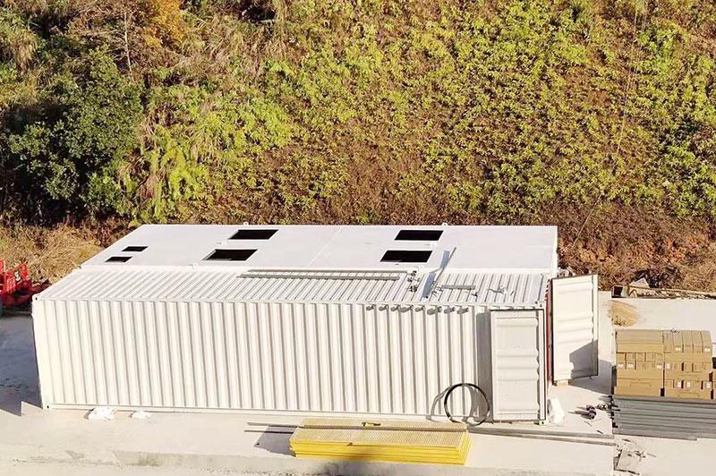 1200TD垃圾填埋场应急设备处理工程